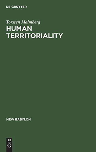 9789027979483: Human Territoriality (Religion & Society Series ; No. 10)