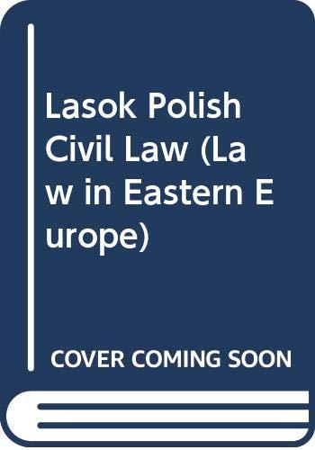9789028605558: Lasok Polish Civil Law (Law in Eastern Europe) (v. 3)