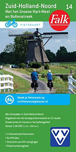 ZUIDHOLLAND NOORD 14 CYCLE MAP: Meirovitch Leonard