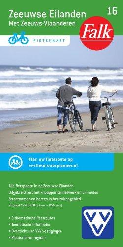 9789028724495: Zeeuwse Eilanden: met Zeeuws Vlaanderen (Falkplan fietskaart)