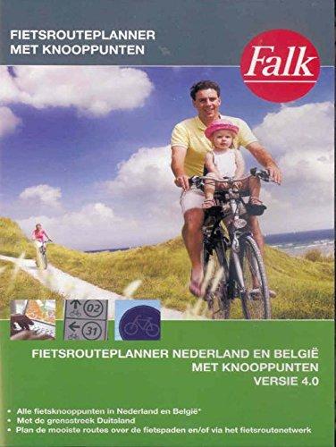 9789028729360: Nederland en Belgie: fietsrouteplanner met knooppunten (Falkplan fietskaart)