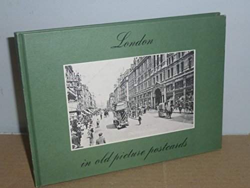 9789028832404: London; in old picture postcards