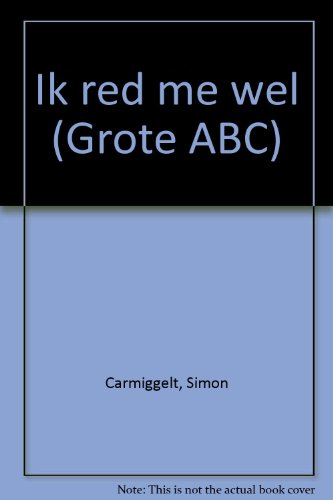 9789029511018: Ik red me wel (Grote ABC) (Dutch Edition)