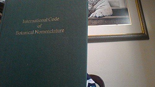 9789031305728: International Code of Botanical Nomenclature (Regnum Vegetabile, V. 111)