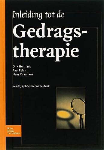 Inleiding Tot de Gedragstherapie: D. Hermans
