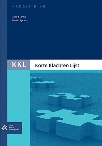 9789031350964: Korte Klachten Lijst (KKL) Handleiding (Dutch Edition)