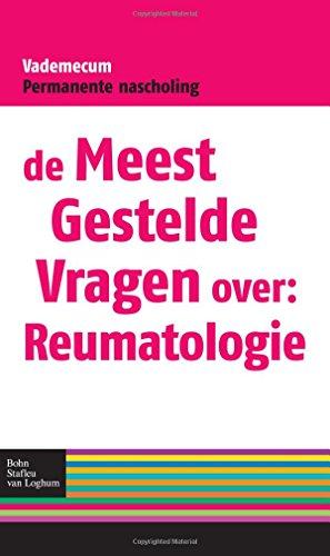 9789031375059: De meest gestelde vragen over: reumatologie: Vademecum permanente nascholing (Vademecum permanente nascholing huisartsen)