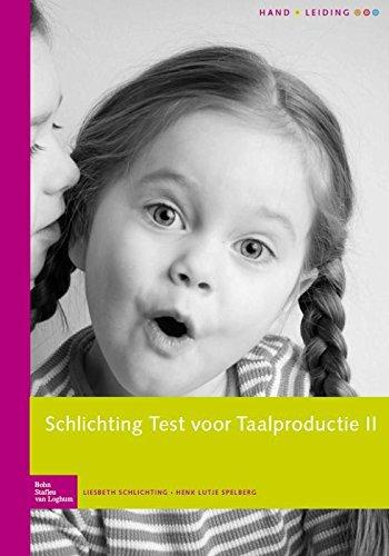 9789031398300: Schlichting Test voor Taalproductie-II Complete set