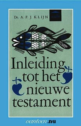 9789031505890: Inleiding tot het nieuwe testament (Vantoen.nu)