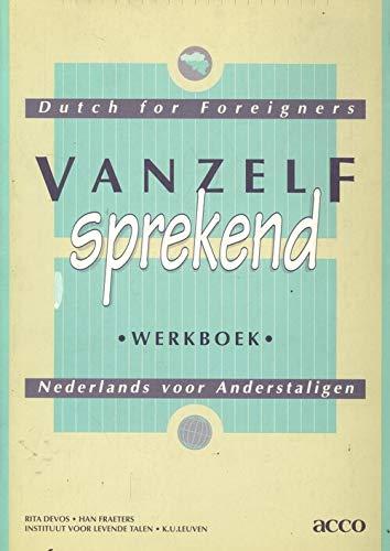 9789033435577: Vanzelf Sprekend Werkboek Dutch for Beginners