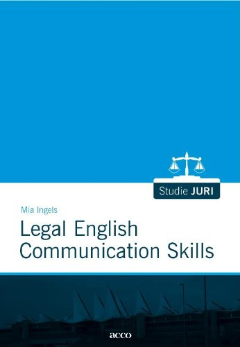 9789033475641: Legal English Communication Skills