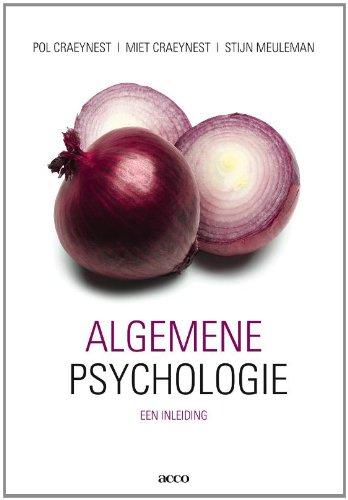 9789033478833: Algemene psychologie: een inleiding