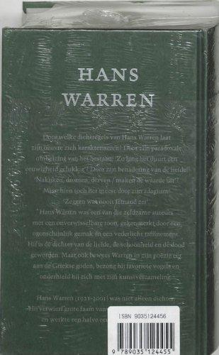 Verzamelde gedichten.: Warren, Hans.