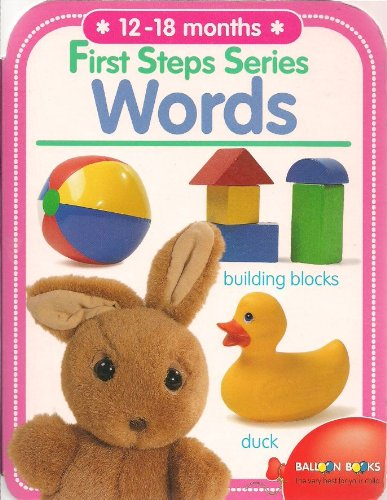9789037436723: Words (12-18 Months) (First steps series: 12-18 months)