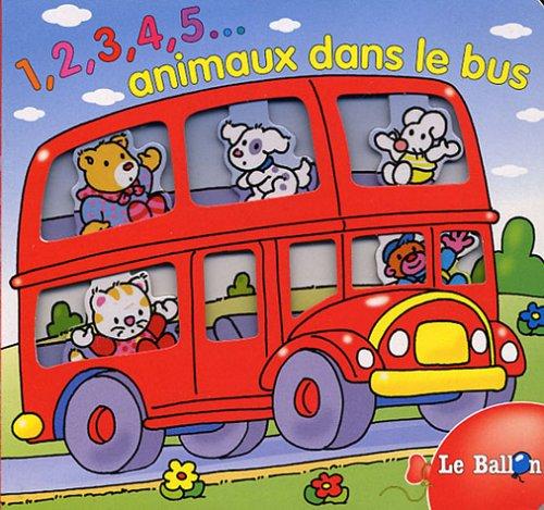 9789037455755: 1, 2, 3, 4, 5... animaux dans le bus