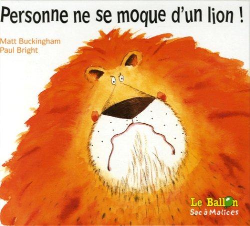 9789037458824: Personne ne se moque d'un lion !