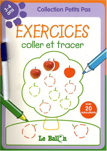 9789037469004: Exercices coller et tracer : 3-4 ans