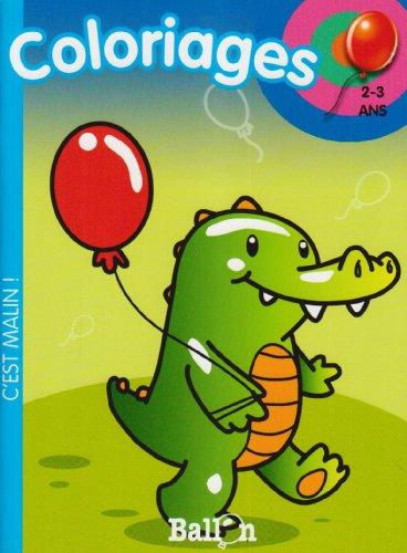 9789037471298: Coloriages (crocodile) 2-3 ans