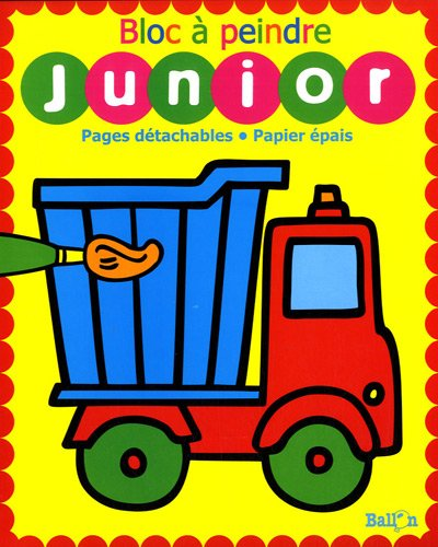 9789037479973: Bloc à peindre junior