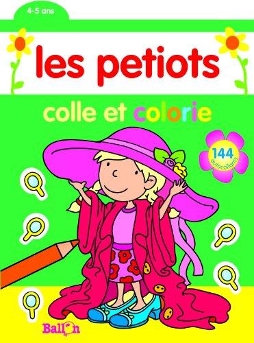 9789037480542: Colle et Colorie 4-5 Ans (Fille)