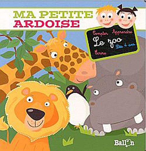9789037480689: Ma petite ardoise - Le zoo