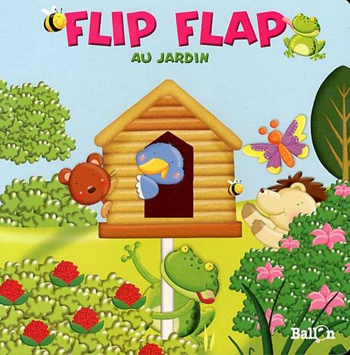 9789037480764: flip flap au jardin