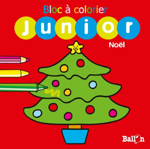 9789037481808: Bloc � colorier Junior No�l