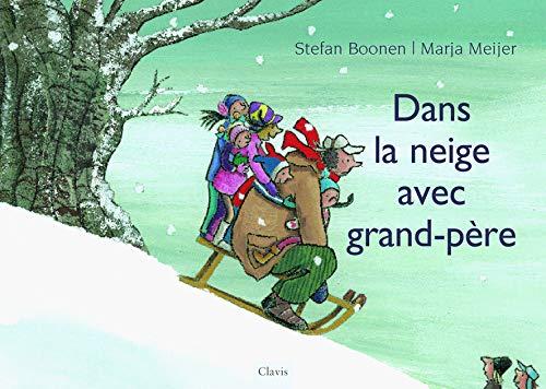 9789037482621: Dans la neige avec grand-père