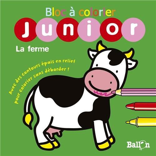 9789037482751: Bloc � colorier sans d�border La ferme