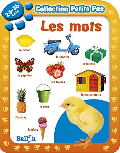 9789037482898: Collection Petits Pas: Les Mots (24-36 Mois) (French Edition)