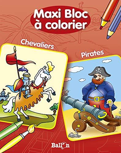 9789037483338: Double bloc � colorier Pirates / Chevaliers