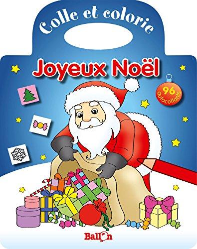 9789037485837: COLLE ET COLORIE : JOYEUX NOEL