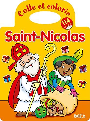 9789037488838: COLLE ET COLORIE SAINT NICOLAS