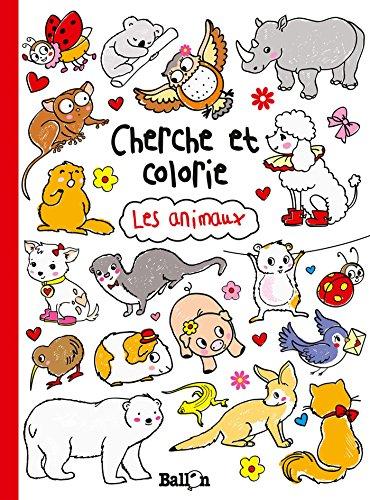 9789037491081: CHERCHE ET COLORIE LES ANIMAUX