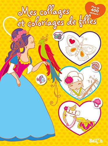 9789037496338: Mes Coloriages de Filles (Jaune)