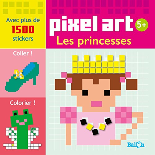 9789037497915: PIXEL ART - LES PRINCESSES