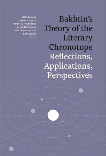 9789038215631: Bakhtin's Theory of the Literary Chronotope: Reflections, Applications, Perspectives