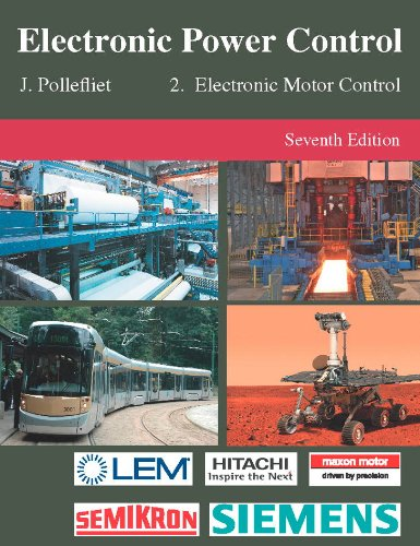 9789038219110: Electronic Power Control: Electronic Motor Control Volume 2