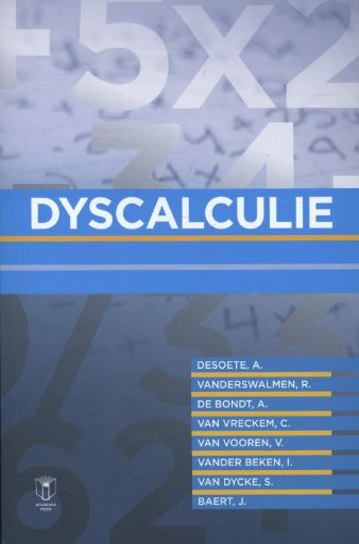 9789038221533: Dyscalculie