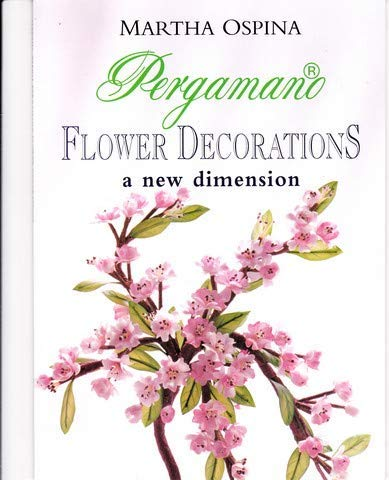 Pergamano Flower Decorations a new dimension: Martha Ospina