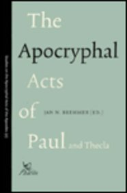 9789039001523: The Apocryphal Acts of Paul and Thecla (Studies on Early Christian Apocrypha)