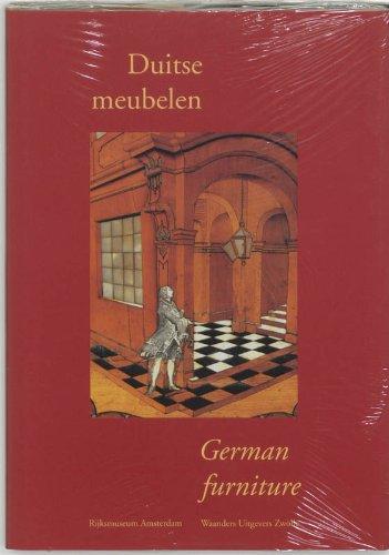 Duitse meubelen/ German furniture.: Baarsen, Reinier.