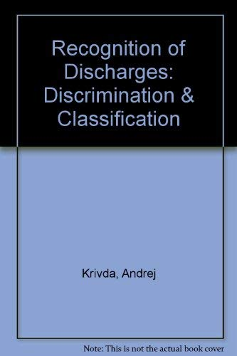 9789040711565: Recognition of Discharges: Discrimination & Classification