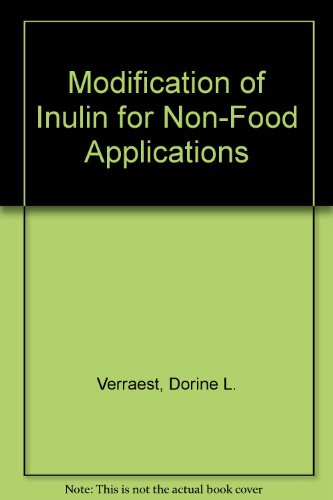 9789040715242: Modification of Inulin for Non-Food Applications