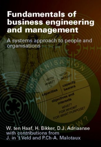 Fundamentals of business engineering and management: a: Haaf, W. ten,