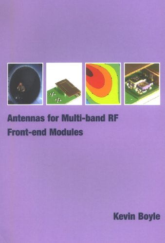 9789040725494: Antennas for Multi-band RF Front-end Modules