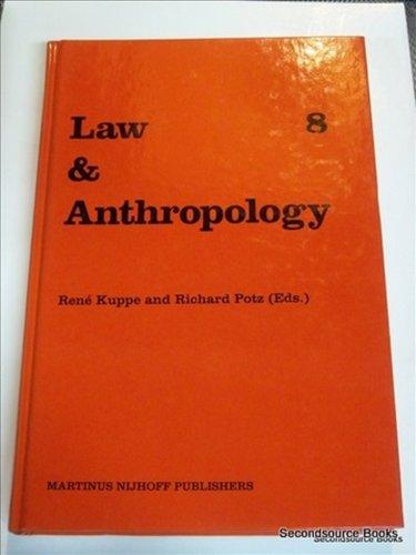 International Yearbook for Legal Anthropology (Hardback)