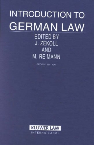 9789041101976: Introduction to German Law