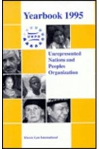 Unrepresented Nations and Peoples Organization Yearbook 1995 (Hardback): Mary Kate Simmons
