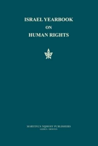 Israel Yearbook on Human Rights 1995 (Hardback)